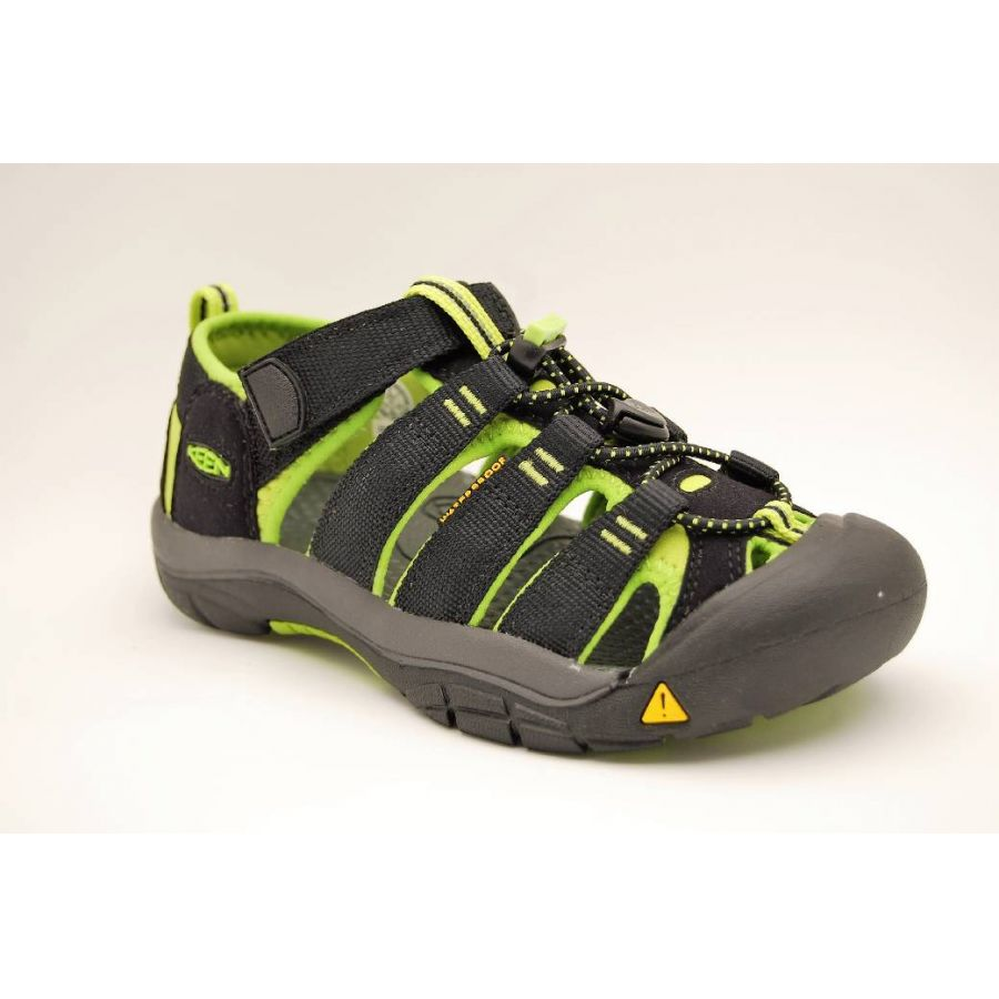 KEEN svart/lime NEWPORT JR