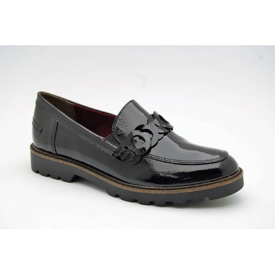 TAMARIS svart loafer