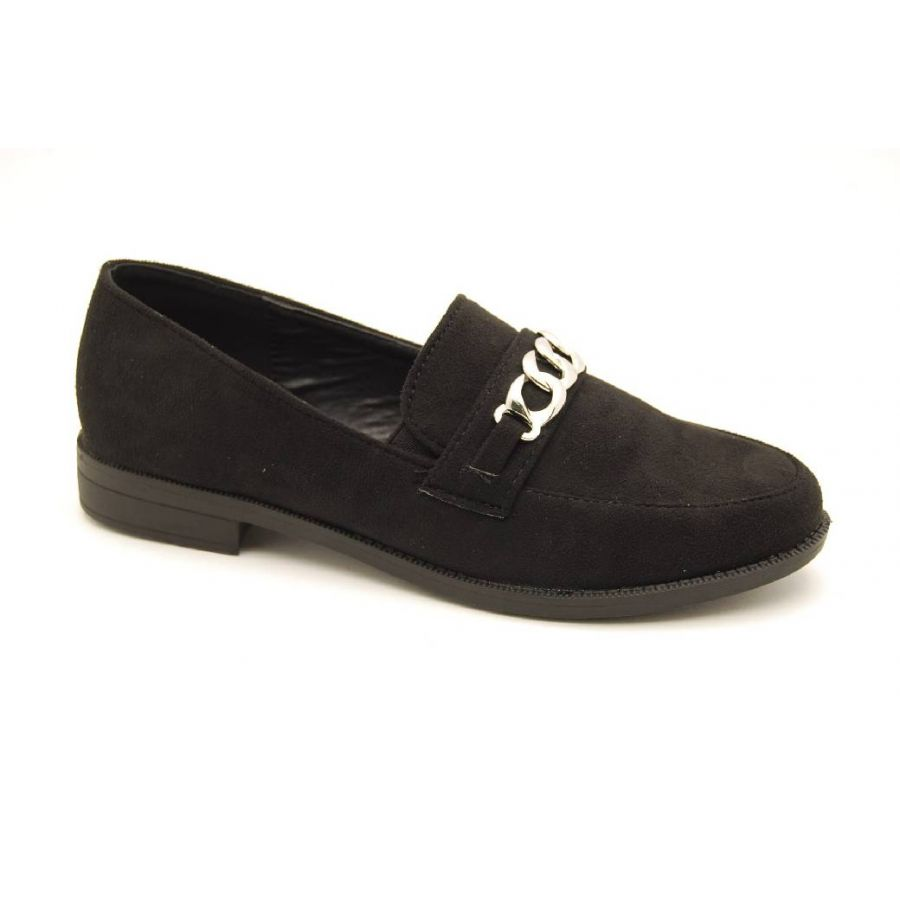 DUFFY svart loafer