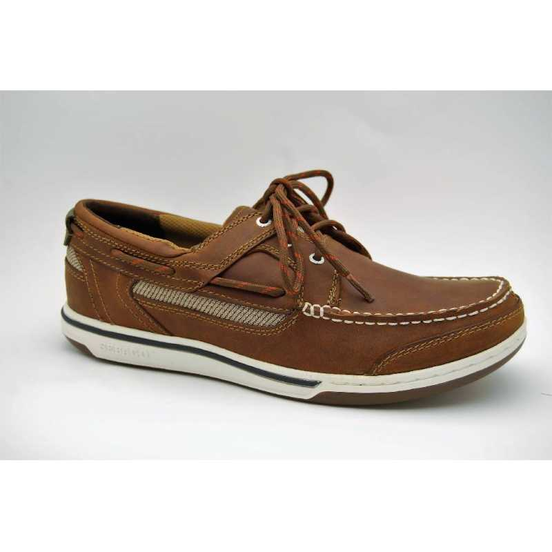 SEBAGO valnöt TRITON THREE-EYE