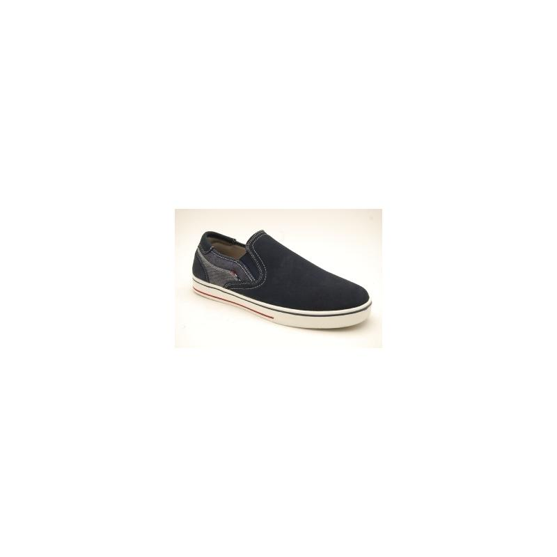 RUGGED GEAR navy slipon