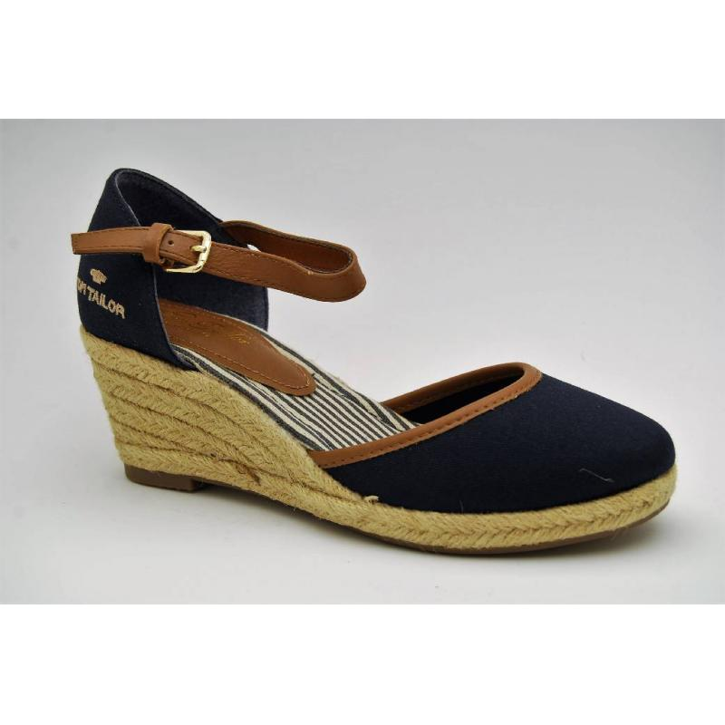 TOM TAILOR navy sandalett