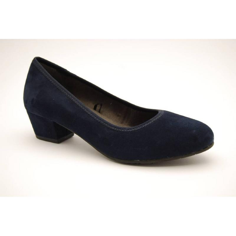 JANA navy pumps